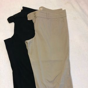Loft cropped dress pants